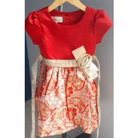 Preloved Dress Merah Cinderella 2 & 3 thn