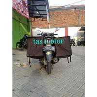 Tas motor / sadle bags Bahan Kanvas bima