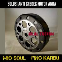 Mangkok CVT Kampas Ganda Mio Soul Fino Karbu Original Custom