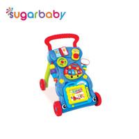 Baby push walker model terbaru dengan mainan piano - Dark Blue
