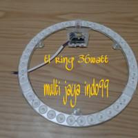 lampu led ring light 36watt 220V / lampu pengganti TL ring