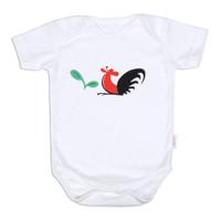 Jumper Bayi Mangkok Ayam Jago / Romper Baby Cotton / Miabelle