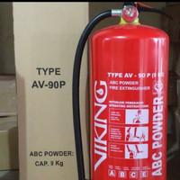 APAR VIKING ABC POWDER AV-90P 9KG PEMADAM API FIRE EXTINGUISHER