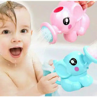 MAINAN MANDI ANAK BENTUK GAJAH LUCU BABY BATH TOYS / ELEPHANT SHOWER