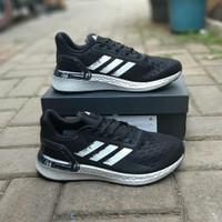 Sepatu Adidas Ultra Boost PB Black White Metalic Silver