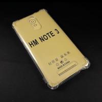 casing anti crack xiaomi Redmi Note 3 /Bening Transparan