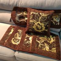 set sarung bantal sofa/kursi 40x40