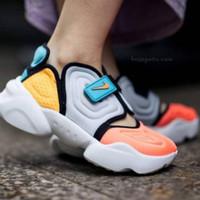 Sepatu Nike Aqua Rift White Orange Blue Premium Original 3