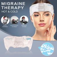 Migraine Ice Pack Head Wrap Adjustable Headache,kompres dingin & panas