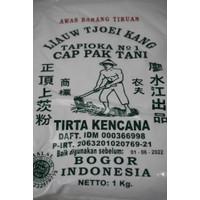 TEPUNG SAGU/TAPIOKA CAP PAK TANI LIAUW TJOEI KANG 1kg