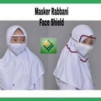 Face shield Masker Kain Rabbani Civil15 Anak Sekolah Mask Clothes New