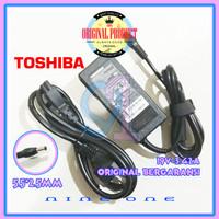 Charger Adaptor Laptop Toshiba L635 L645 L735 L740 C800 C640D Original