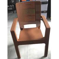 Bangku Napolly / Kursi Plastik Sender Tangan Napolly Motif Anyaman