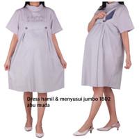dress hamil menyusui jumbo 1802 bajuhamil baju hamil