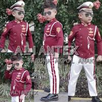 Costume Baju Anak Taruna AKPOL Profesi Kostum Anak Balita Remaja