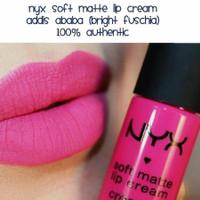 NYX SOFT MATTE LIP CREAM SMLC 07 ADDIS ABABA 100% AUTHENTIC ORIGINAL