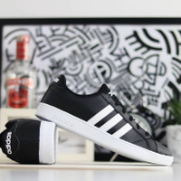 Sepatu Adidas Neo Baseline Black White Original Adidas Original
