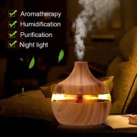 Taffware Ultrasonic Humidifier Aroma Essential Oil Diffuser 300ml - Hu