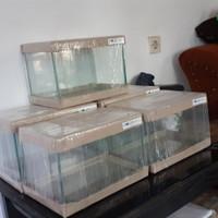 Nano Tank Aquascape - Aquarium Kaca 30×20×20 cm | 30x19x16 cm