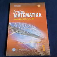 BUKU JENIUS MATEMATIKA SMP MTS KLS VII BSE