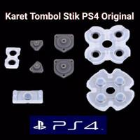Karet Tombol PS4 Stik 1 Set Original Ori