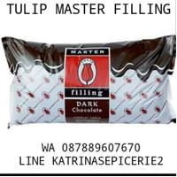 500 GRAM TULIP MASTER FILLING SELAI COKELAT COKLAT SPREAD