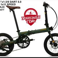 """Sepeda Lipat PACIFIC DART 5.0 16"""""""
