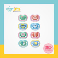 Philips Avent Pacifier Orthodontic Twin Pack / Empeng Bayi Isi 2