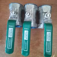 Ball valve 1 pc sankyo stainless drat 316 1,5 inch