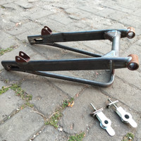 swing arm gl 100 Oval supertrap mentah | swing arm GL pro/Megapro