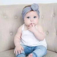 Bandana Bayi Donat - Bando Bayi - Aksesoris Kepala