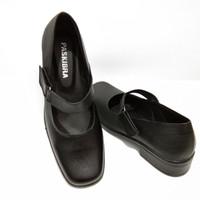 sepatu paskibra kulit asli sepatu pantofel wanita sepatu sekolah