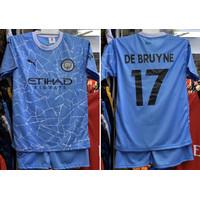 Football Tshirt Baju Bola Anak Manchester City 3 set Size S•M•L