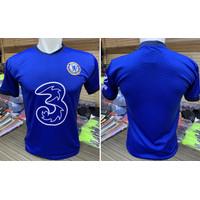 Football Tshirt Baju Bola New CHELSEA Blue Size M•L