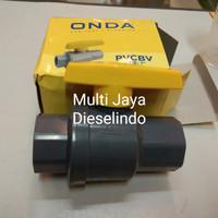 Ball valve pvc 1/2 inch / Ball valve PVBC Onda