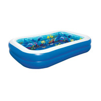 kolam renang anak bestway - biru