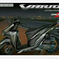 CUTTING STICKER NEW VARIO 125/150