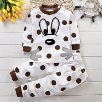 Setelan Bayi/Setelan Panjang Bayi/Baju Bayi /Baju Motif Polkadot