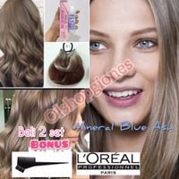 Loreal MajiFashion 8.1 Light Ash Blonde Brown Cat rambut L'oreal Profe