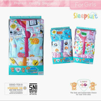 sleep suit libby premium healthy / baju romper kodok bayi