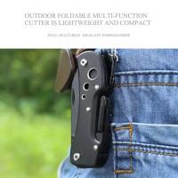 knifezer pisau lipat Swiss army pocket knife edc