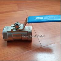 Ball valve sankyo 1 inch ss 316