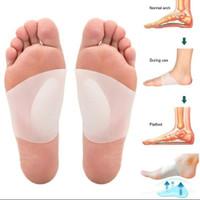 Insoles Silikon Arch Flat Foot ( flat feet ) Cushion Kaki Datar Insole