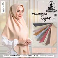Hijab Lebar Syar'i bahan Voal Miracle by Umama