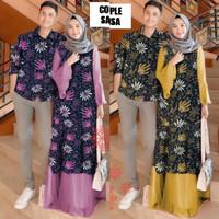 sa baju couple kapel cople samaan pasangan kemeja batik gamis fashion