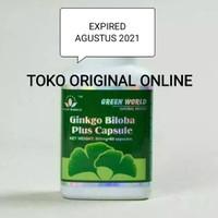 Ginkgo Biloba Green World Asli 100% 1