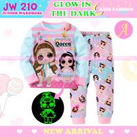 Piyama LOL Drama Queen Glow In The Dark Baju Tidur Anak JW 210 A
