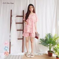 GREET Piyama Wanita/Katun Jepang Premium/K-241 (H - Free size)