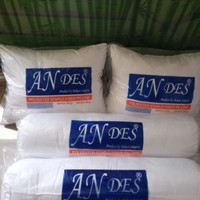 Paket 2 pasang Bantal dan Guling silikon ANDES