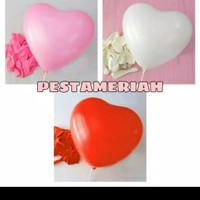 Balon Hati/ Balon Love/ Balon Latex Hati/ Balon Latex